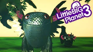 LittleBigPlanet 3 - A Dragon Story - LBP3 Animation