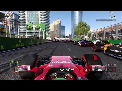 THE NEW SPECTATOR MODE F1 2017 Multiplayer championship Season 3 Race 8