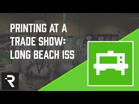 Screen Printing Trade Shows w/ Ryonet: Long Beach ISS