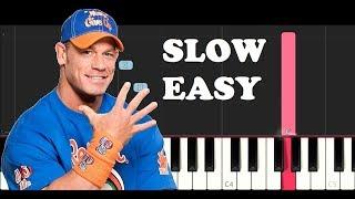 john-cena-theme-slow-easy-piano-tutorial