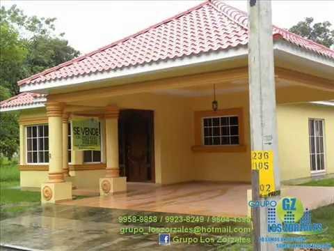 Grupo los zorzales vende o alquila casa res campisa san for Fachadas de casas modernas en honduras