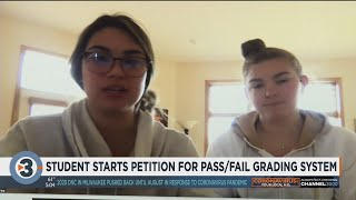 Student starts petition to get pass/fail grading system added to district for remainder of school