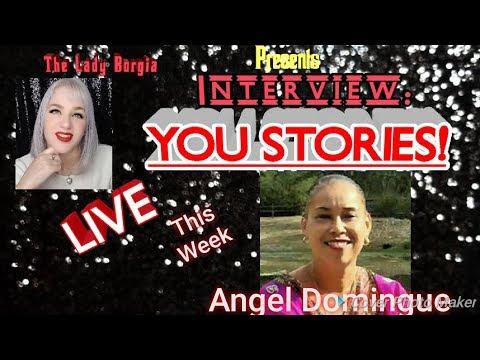 """DEBUT of 'Interview: YOU STORIES!"""" Angel Domingue BDAY! (See Below) #Iamacreator"""