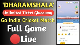 Google Pay Go India Offer New Update,Dharamshala Ticket Cricket Match Live 100 Cashback Google Pay