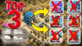 TOP 3 TH12 WAR BASE 2018 Anti 2 Star With +8 Replays Anti Bowler Miner,E-Dragon,Anti Queen Walk |Coc