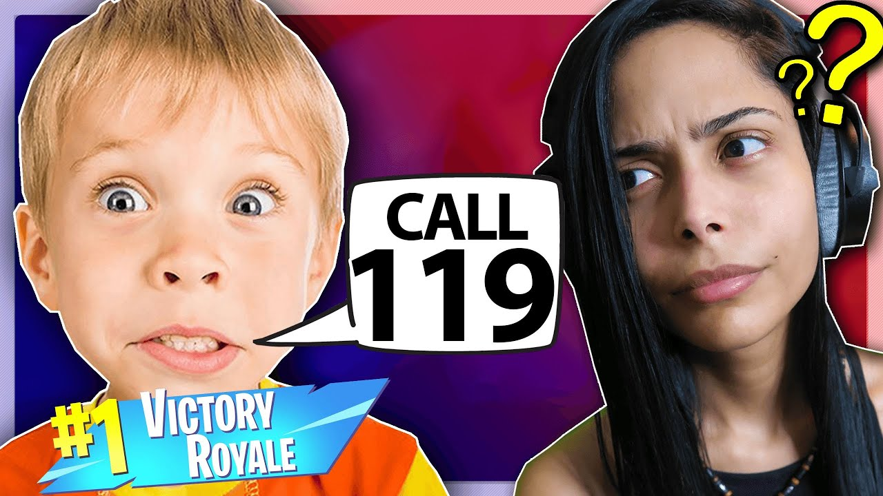 Poor KID has NO CLUE! *Scary* (Fortnite - Battle Royale) Funny Moments