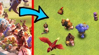 "TitLe ScReen TrooPs OnLy!! ""Clash Of Clans"" Troll attacks!!"