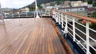20140528 083128   Oosterdam Juneau Morning Port ontop deck looking over city part1