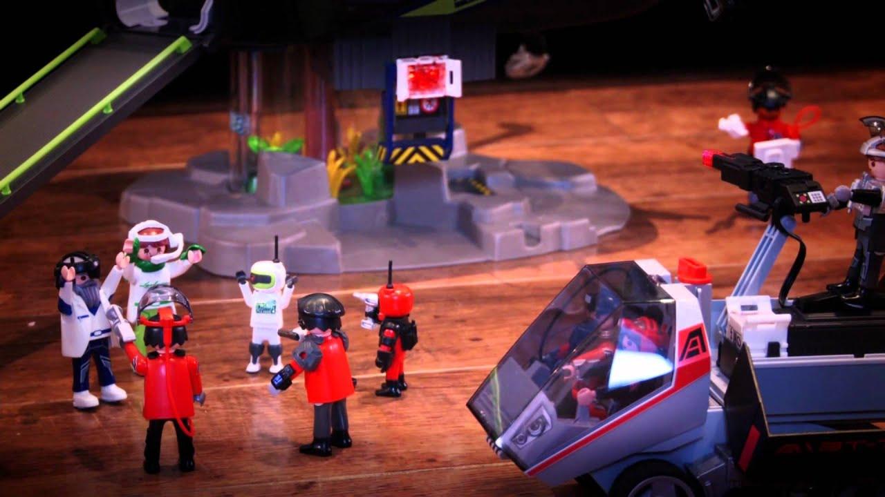 playmobil future planet - babysitting tom typhoon