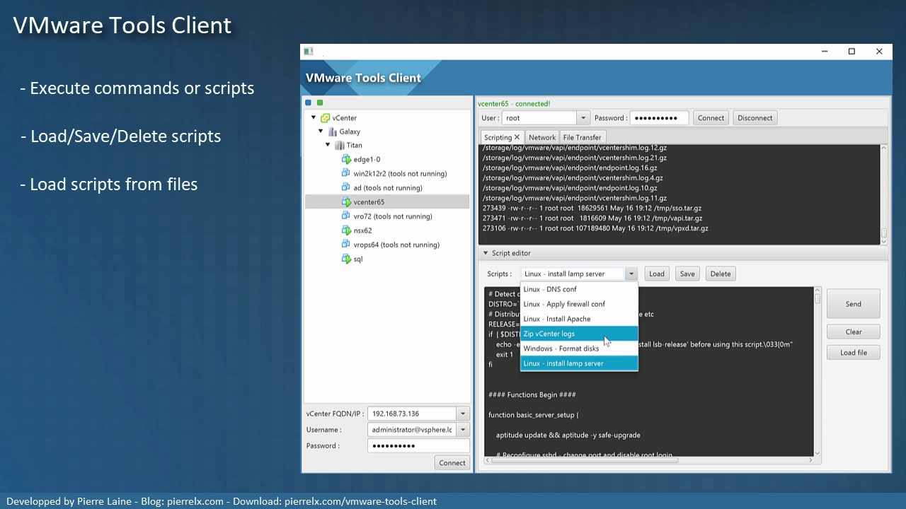 VMware Tools Client - Pierrelx's LAB