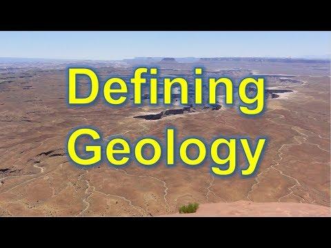 Defining Geology