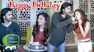 Karan Grover Celebrates Birthday with Ridhima and Shiny | Bahu Humari Rajnikant | Life Ok
