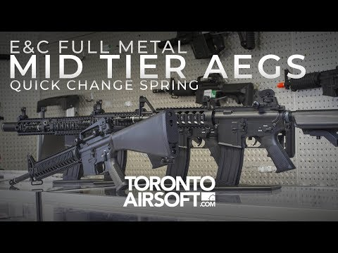 Here's why E&C's are one of the best MID TIER AEGs you might not have heard of - Torontoairsoft.com