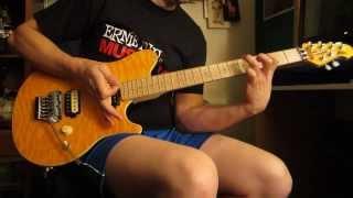 Improvising Van Halen style on my Sterling Music Man AX40