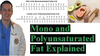 Dr Kiel briefly reviews Mono and Polyunsaturated Fat Explained MORE...