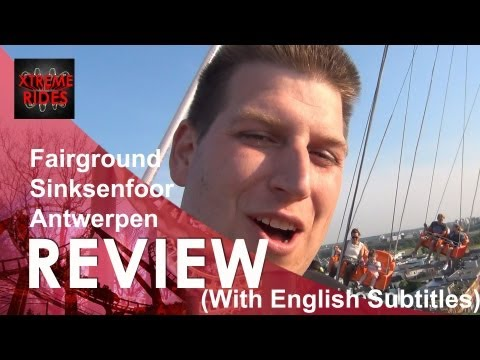 Review Fairground Sinksenfoor Antwerpen Belgium [ENGLISH VERSION] Mini special ATW en Bungee