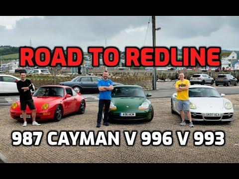 THE BIG PORSCHE CAR SWAP: 996 Carrera V 993 V 987 Cayman (part One)