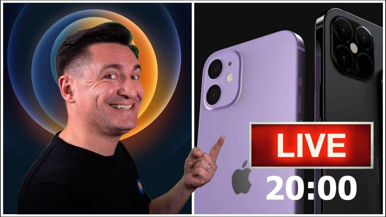 LIVE - LANSARE IPHONE 12 + ȘNIȚELE