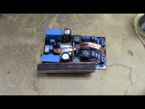 TPA3116D2 heatpipe mod - much improved performance! AND THEN I BLOW IT UP