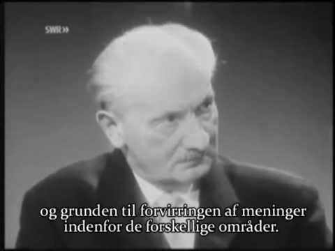 Heidegger interviewes af den buddhistiske munk Bhikkhu Maha Mani