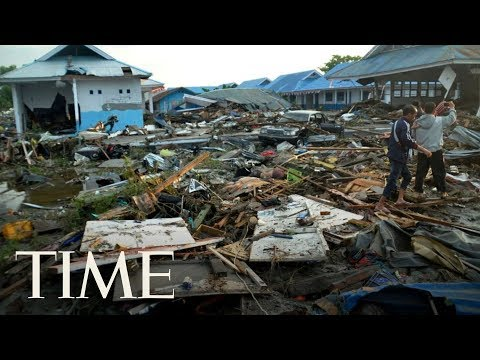 Over 380 Dead After Earthquakes Cause Devastating Tsunami In Indonesia | TIME
