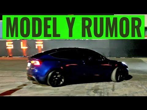 Tesla Model Y Rumor