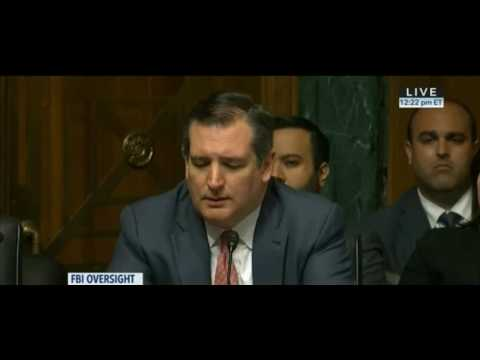 Ted Cruz CRUSHES James Comey