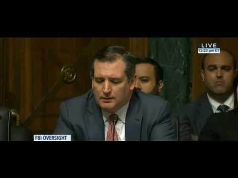 Ted Cruz CRUSHES James Comey's Defense of Huma Abedin