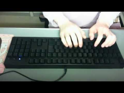 FILCO Majestouch BLACK (Cherry MX Blue / 青軸) typing vol.002