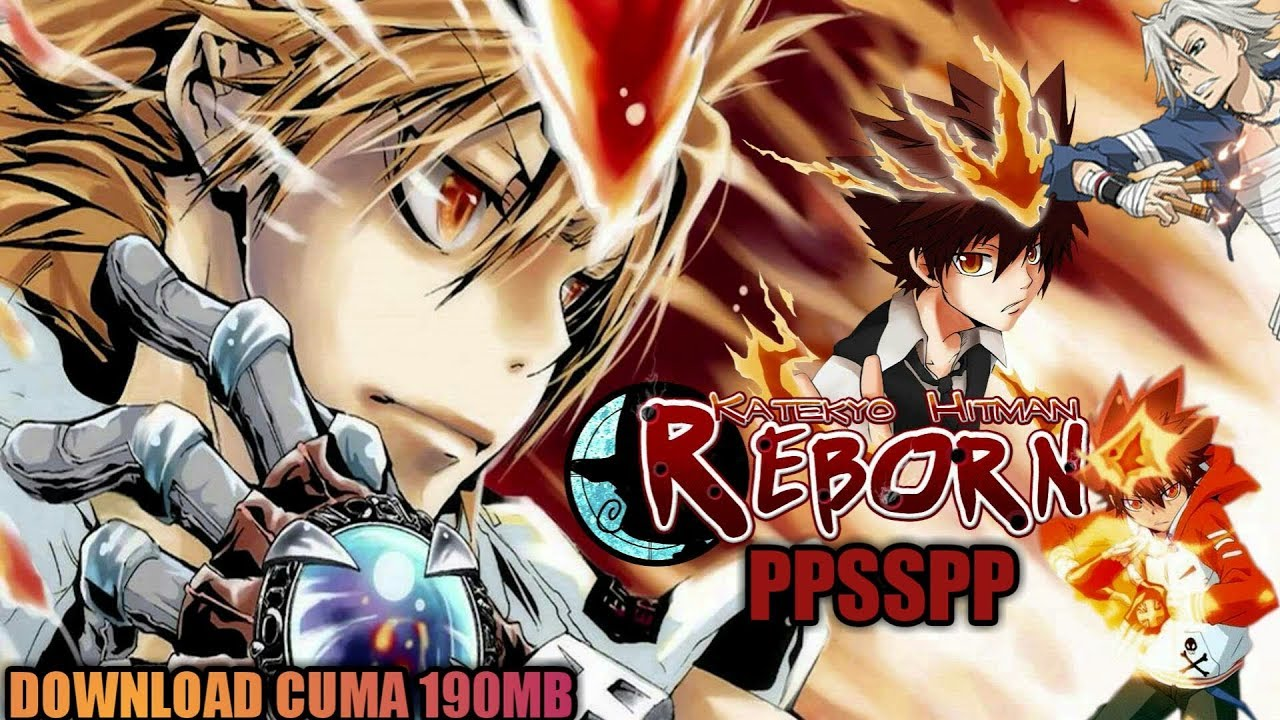 Cara Download Game Katekyoo Hitman Reborn Battle Arena Ppsspp