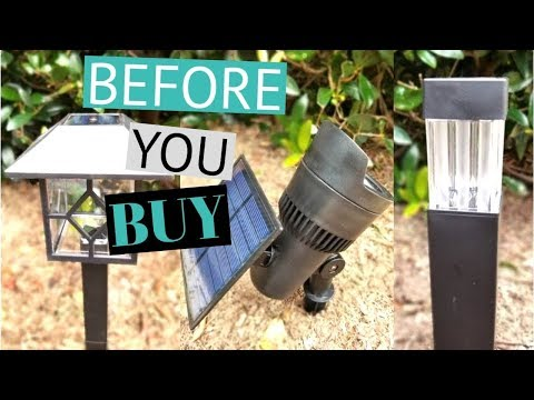Landscape lighting – Why You DON'T Want Solar Lights!