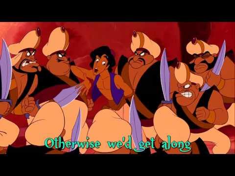 Aladdin - One Jump Ahead (Sing-Along Lyrics)