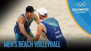 Brazilian Duo win Men's Beach Volleyball gold