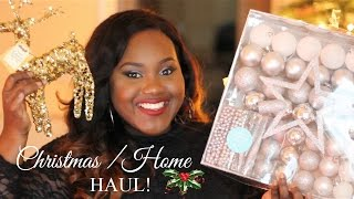 Christmas/ Winter Home Decor Haul | IKEA | TESCO | DIY IDEAS and MORE| Chanel Boateng Thumbnail