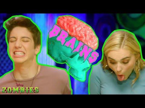 Zombie Brain Food 😋 | Z-O-M-B-I-E-S Challenges | Disney Channel