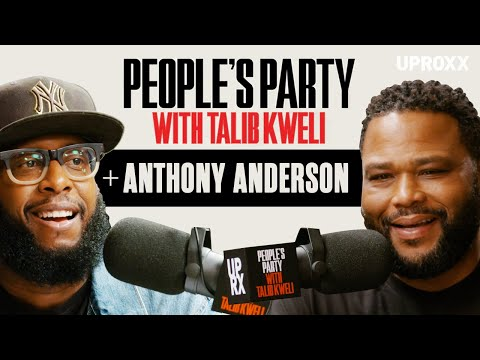Talib Kweli And Anthony Anderson Talk Black-ish, Compton, Scorsese, And Prince | People's Party