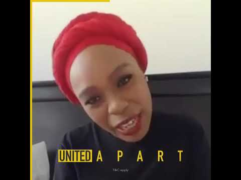 #UnitedApartSA | Scandal star Lusanda Mbane inspires us with a lockdown tale
