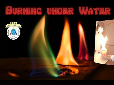 BURNING UNDER WATER