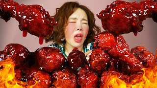 FIRE #CHICKEN #ASMR #Best #Reaction #Realsound #Mukbang #Eatingsound #KoreanMukbang #Ssoyoung 오늘 한번 매운맛에 죽어보자!!!!! 이런생각으로 ...