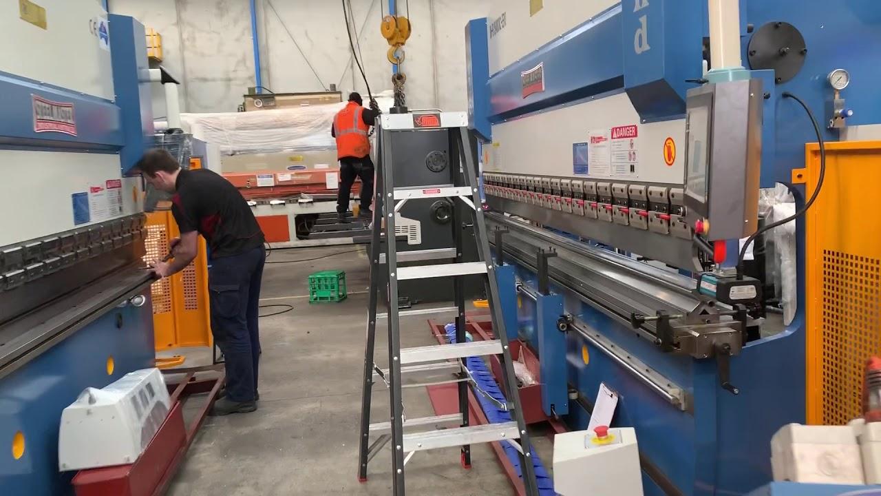 Download Steelmaster Industrial Metalworking Machinery Under Pre Commissioning