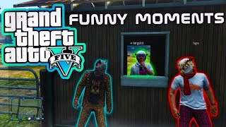The Mysterious Horse - GTA 5 Online Fun (Barnyard Brawl, Homeless Shelter)