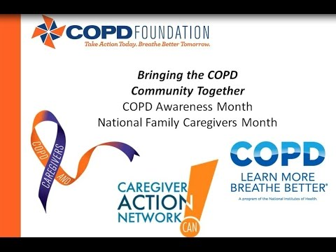 Caregiving Assisting People With Chronic obstructive pulmonary disease