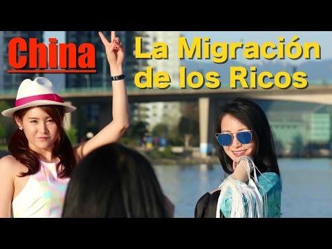 China, La Migración de los Ricos