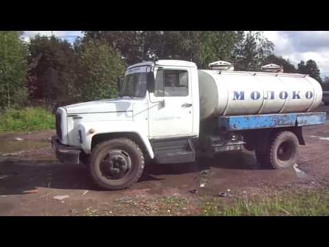 Автоцистерна для перевозки молока на шасси ГАЗ-3309, 2007 года выпуска