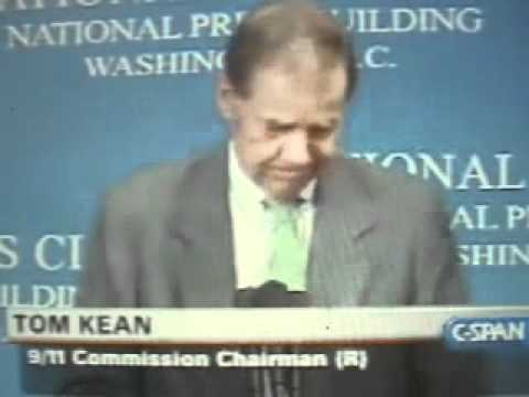 Thomas Kean: The 9/11 Commission Was Set Up To Fail