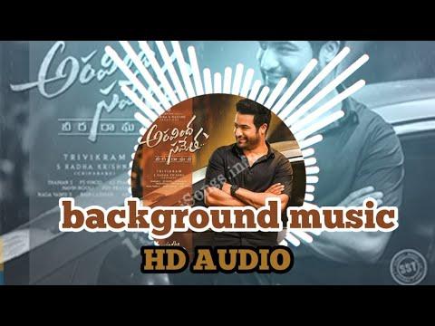 aravinda sametha background music