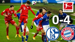 Müller's Brace and Kimmich's Assist Hattrick | Schalke 04 - Bayern München 0-4 | Highlights