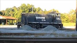 Railfaning Norfolk Southern, Simpson Yard, Jacksonville, FL, 10/18/14