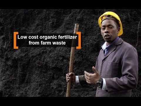 Kenya: Low cost organic fertilizer from farm waste