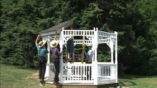 Custom Gazebo Construction | Amish Country Gazebos